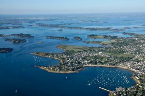Le Golfe du Morbihan depuis notre ULM